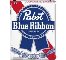 Pabst Blue Ribbon iPad Case/Skin