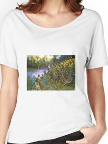 'Cuidado' - Take Care - Bushmaster with Bolo! Women's Relaxed Fit T-Shirt