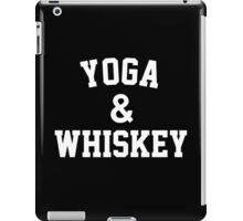 Yoga & Whiskey iPad Case/Skin