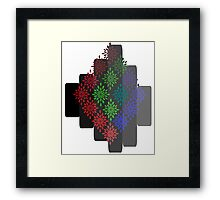 Graphic Design IIII Framed Print