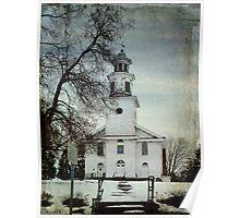Bloomingburgh NY Dutch Reformed Church Poster