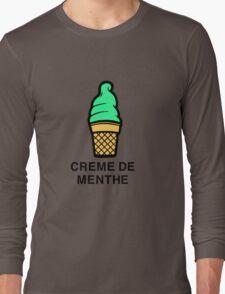 Creme de menthe Long Sleeve T-Shirt