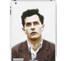 Ludwig Wittgenstein Portrait (colourized) iPad Case/Skin