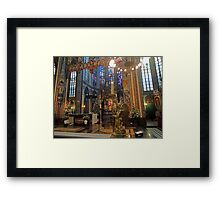 Gold & Glorious: Amsterdam Chruch at Christmas Framed Print