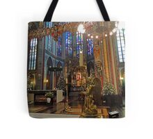 Gold & Glorious: Amsterdam Chruch at Christmas Tote Bag