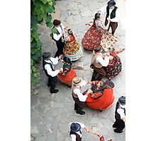 Romania - Folklore Dancing Photographic Print