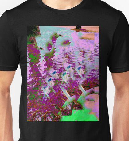 vaporwave toothbrush water Unisex T-Shirt