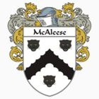 McAleese Coat of Arms/Family Crest by William Martin