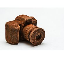Chocolate Camera Photographic Print