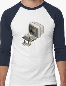 Atari 400 Setup Men's Baseball ¾ T-Shirt