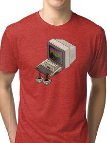 Atari 400 Setup Tri-blend T-Shirt