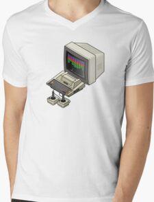 Atari 400 Setup Mens V-Neck T-Shirt