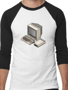 Commodore 64 Men's Baseball ¾ T-Shirt