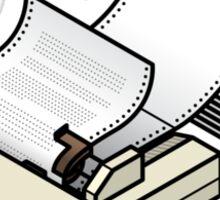 Epson LX-80 Dot Matrix Printer Sticker