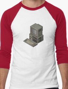 IBM PC JX 5511 Men's Baseball ¾ T-Shirt