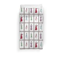 Downton Inspired Fashion Duvet Cover