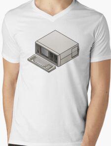 Compaq Portable Mens V-Neck T-Shirt