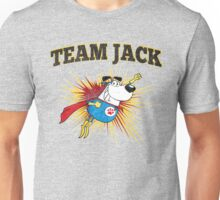Team Jack - Fundraiser for Jack's Leg Surgery - Help Injured Dog's Family Cover Surgery Costs Unisex T-Shirt