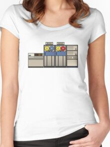 Vintage Mainframe Women's Fitted Scoop T-Shirt