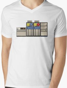 Vintage Mainframe Mens V-Neck T-Shirt