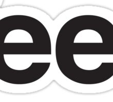 Yeep - Jeep parody Sticker