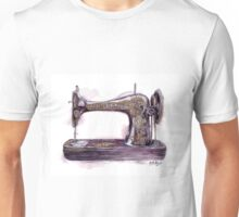 Vintage Sewing Machine Unisex T-Shirt