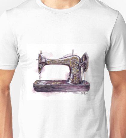 Vintage Sewing Machine Unisex T-Shirt