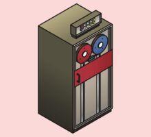 Mainframe Tape Drive Kids Tee