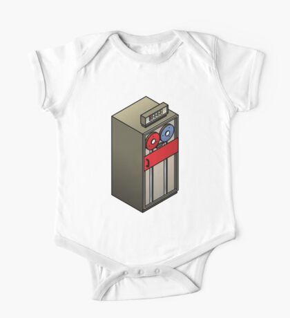 Mainframe Tape Drive One Piece - Short Sleeve