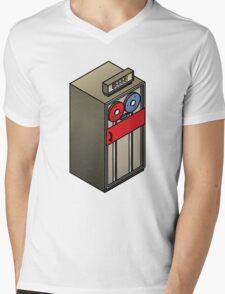 Mainframe Tape Drive Mens V-Neck T-Shirt