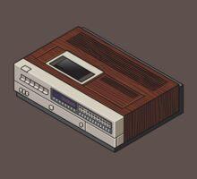 Vintage Woodgrain VCR Kids Clothes