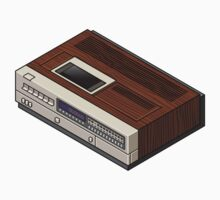 Vintage Woodgrain VCR Kids Clothes