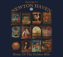 Newton Haven Pubs by inkredible