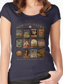 Newton Haven Pubs Women's Fitted Scoop T-Shirt