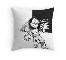 Biscotti Jones Throw Pillow