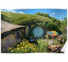 Hobbit Hole Poster