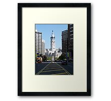 All roads lead to... The Center Framed Print