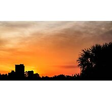 Sunset in Panama City Photographic Print