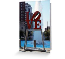 LOVE in the Park Greeting Card