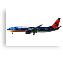 Sun Country Airlines Boeing 737-800 Canvas Print