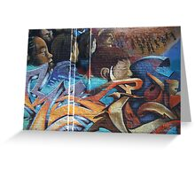 Wall Art Greeting Card