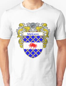 McCann Coat of Arms/Family Crest T-Shirt