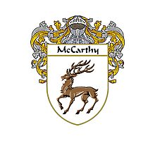 McCarthy Coat of Arms/Family Crest Photographic Print