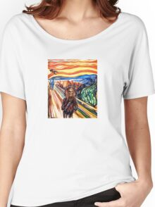 The Wookie Scream - David Blancas Women's Relaxed Fit T-Shirt