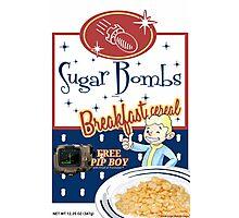 sugar bombs Photographic Print