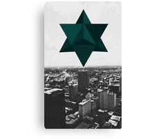 Star Tetrahedron Descent Canvas Print