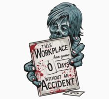 Zero Days Without an Accident - sticker by DJKopet