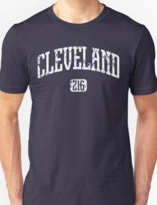 Cleveland 216 (White Print) T-Shirt