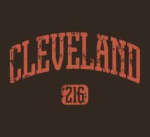 Cleveland 216 (Orange Print) by smashtransit