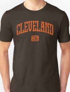 Cleveland 216 (Orange Print) T-Shirt